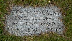 George V. Gaunt