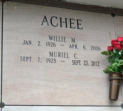 Willie Milton Achee