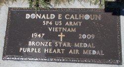 """Donald E """"Don"""" Calhoun"""