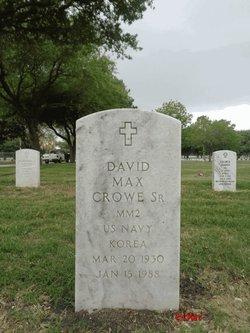 David Max Crowe, Sr