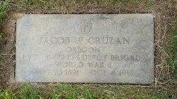 "Jacob Washington ""Jake"" Cruzan"