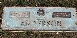 Fannie Alice <I>Spangler</I> Anderson