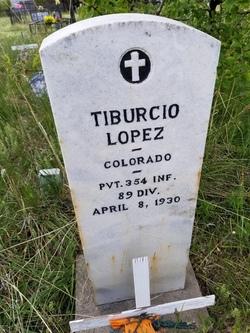Pvt Tiburcio Lopez