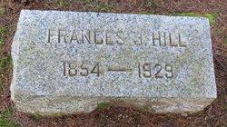 Frances Julia <I>Fewings</I> Hill