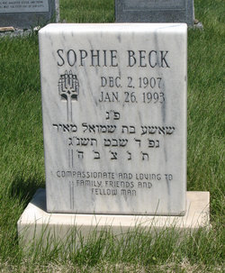 Sophie Beck
