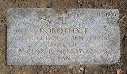 Dorothy E Agnew