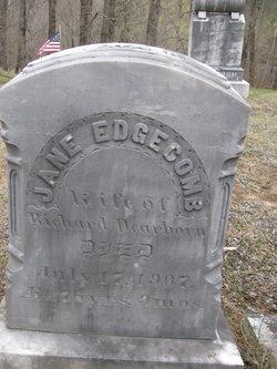 Jane <I>Edgecomb</I> Dearborn
