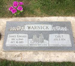 Janice Edwards Warnick