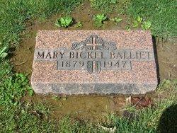 Mary <I>Bickel</I> Balliet