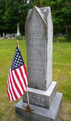 Lucy A. <I>Widger</I> Alton