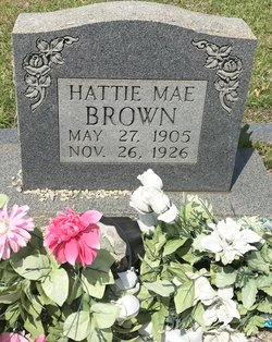 Hattie Mae <I>Evans</I> Brown