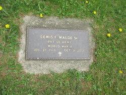Lewis F. Walde, Sr