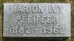 Marion Ivy <I>Stauffer</I> Pfeiffer