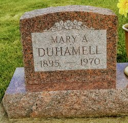 Mary Ann <I>Waters</I> Duhamell