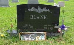 Marilyn Diane <I>Hawkins</I> Blank