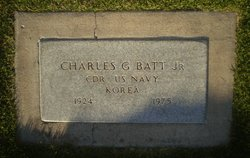 CDR Charles Gladston Batt, II