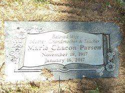 Marie C <I>Chacón</I> Parsen