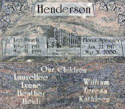 Floris Matilda <I>Springer</I> Henderson