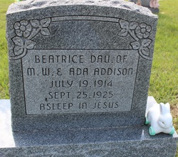 Beatrice Addison