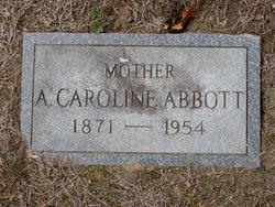 Annie Caroline <I>Wheeler</I> Abbott