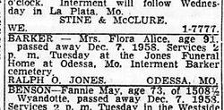 Flora Alice <I>Bogar</I> Barker