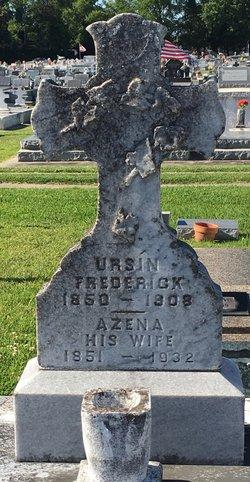 Marie Azena <I>Vincent</I> Frederick