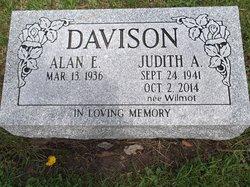 "Judith Anne ""Judy"" <I>Wilmot</I> Davison"