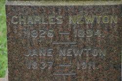 Jane <I>Armstrong</I> Newton