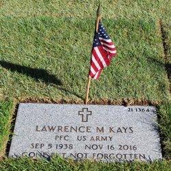 Lawrence M Kays