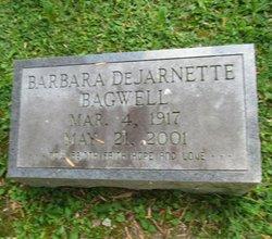 Barbara <I>DeJarnette</I> Bagwell