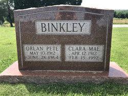 """Virgil Orlan """"Pete"""" Binkley"""