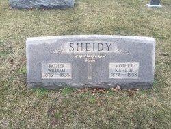 Katie H <I>Wayne</I> Sheidy