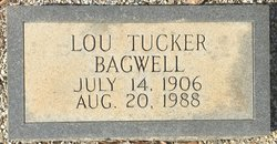 Lou <I>Tucker</I> Bagwell
