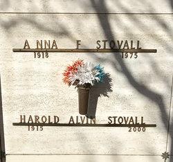 """Harold Alvin """"Smokey"""" Stovall"""