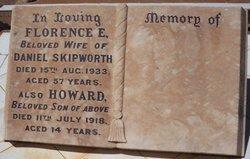 Florence Elizabeth <I>Crabb</I> Skipworth