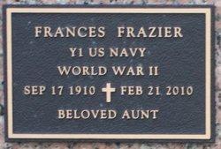Frances <I>Teresinski</I> Frazier