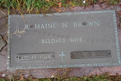 Romaine <I>Nelson</I> Brown