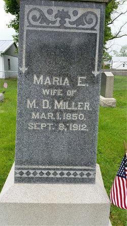Maria E. <I>Widner</I> Miller