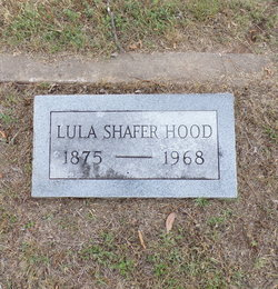 Lula <I>Shafer</I> Hood