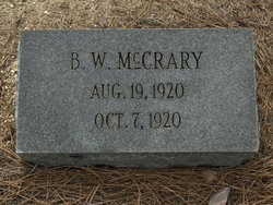 B. W. McCrary