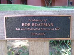 Bobby Wayne Bob Boatman