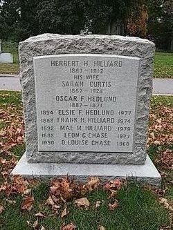 Elsie Frances <I>Hilliard</I> Hedlund