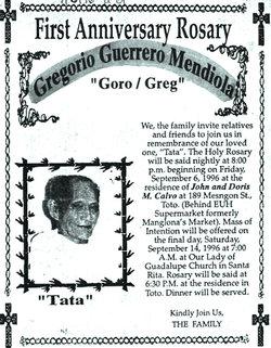 Gregorio Guerrero Mendiola