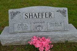 John G Shaffer, Sr