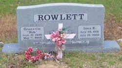 Granville Bob Rowlett