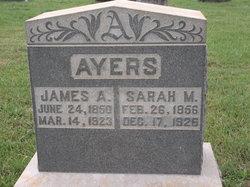 Sarah Margaret <I>Sanders</I> Ayers
