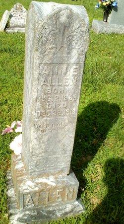 Annie Elsie <I>Stovall</I> Allen