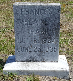 Frances Elaine Tharp