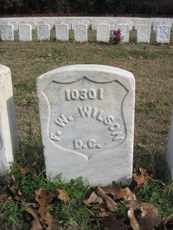 Pvt Frank W Wilson
