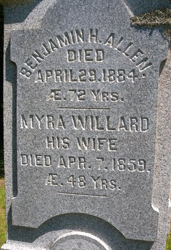 Myra <I>Willard</I> Allen